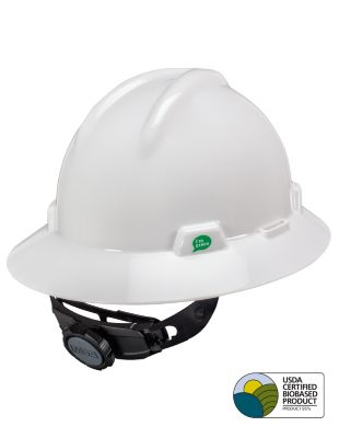 V-Gard® GREEN Full Brim Hard Hats